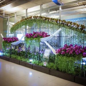 suvarnabhumi repülőtér orchidea