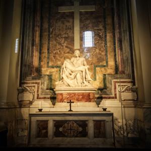 róma vatikán szent péter bazilika michelangelo pieta