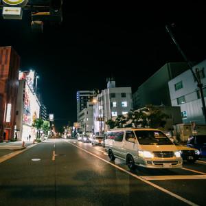japán utcarészlet oszaka