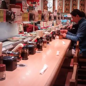 japán szusi gyorsétterem